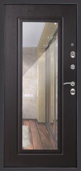 Дверь Дверной континент Сити-Z3К (с зеркалом) Графит  Венге