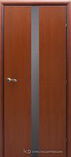 Дверь Краснодеревщик 73 06 с фурнитурой, Бразильская груша натуральный шпон