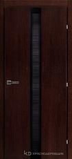 Дверь Краснодеревщик 73 04 с фурнитурой, Мореный дуб натуральный шпон