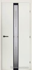 Дверь Краснодеревщик 50 02 (стекло матрица) с фурнитурой, Белый CPL
