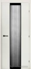 Дверь Краснодеревщик 50 04 (стекло сетка) с фурнитурой, Белый CPL