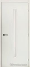 Дверь Краснодеревщик 50 33 (стекло сатин) с фурнитурой, Белый CPL